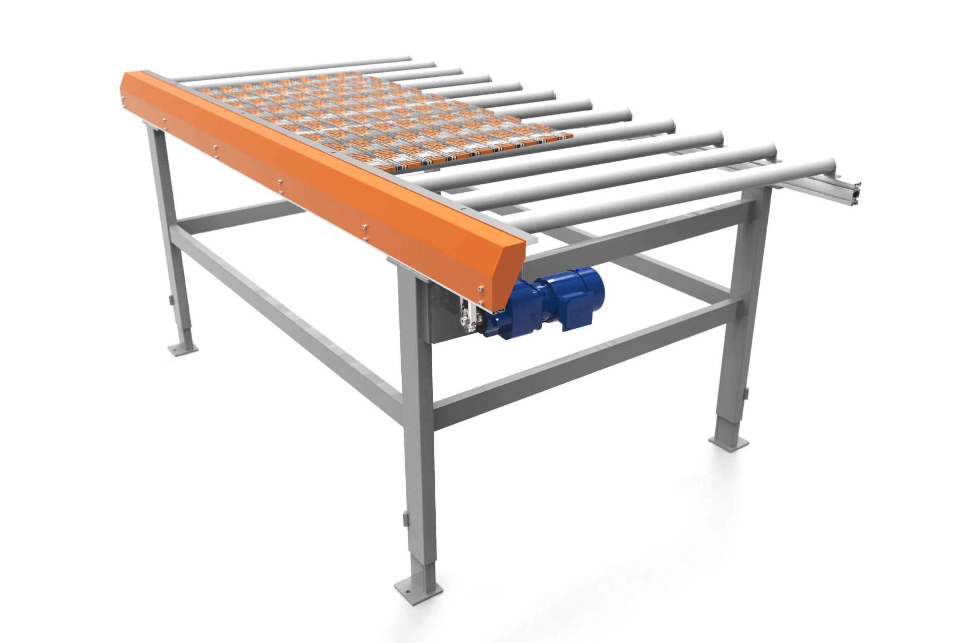 drivna rullbanor    JRL tillverkar drivna rullbanor där manuell ej kraft ej krävs vid förflyttning av gods.   Självklart så anpassar vi rullbanorna för dem behov som ni har på eran industri.