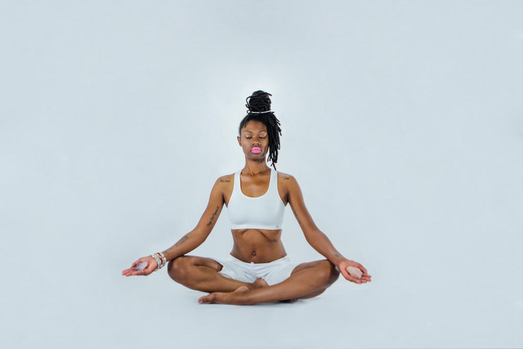 Imani Gracie Hagen Yoga Studio promotional images