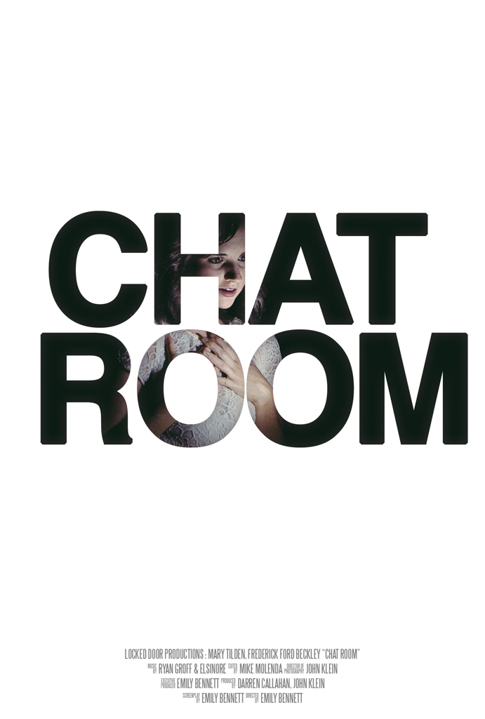 film poster chat room directed by emily bennett movie poster by gracie hagen