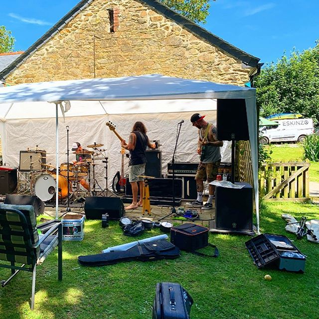 First Ever @golithaband Gig Secret garden party 2019 Ladock. . . #cornwall #newmusic #cornishband #watchgolitha #realrock #visitcornwall #truro #staustell #newquay#stives #stivesbay #hayle #penzance #gwithian #visitcornwall #surfinglessons #surfschool #love #cornwall #livemusic #music #lovemusic