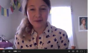 """Winner, Lauren Hannigan, reads her poem """"Bugaloo"""""""