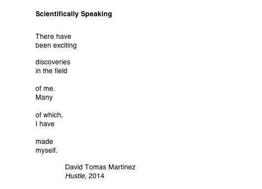Scientifically Speaking