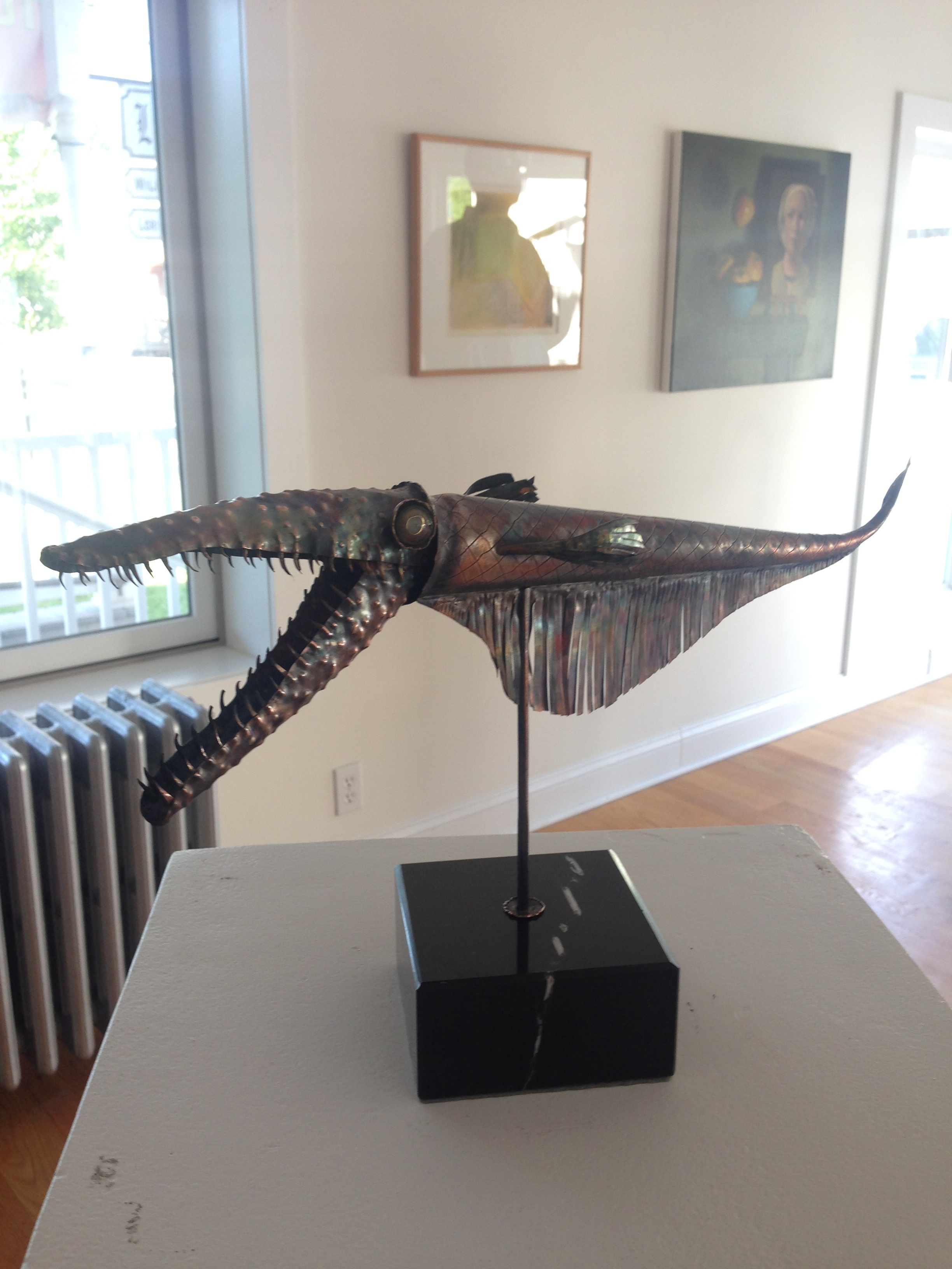 """Michael Baron """"Catskillosaurus"""" (Copper)"""