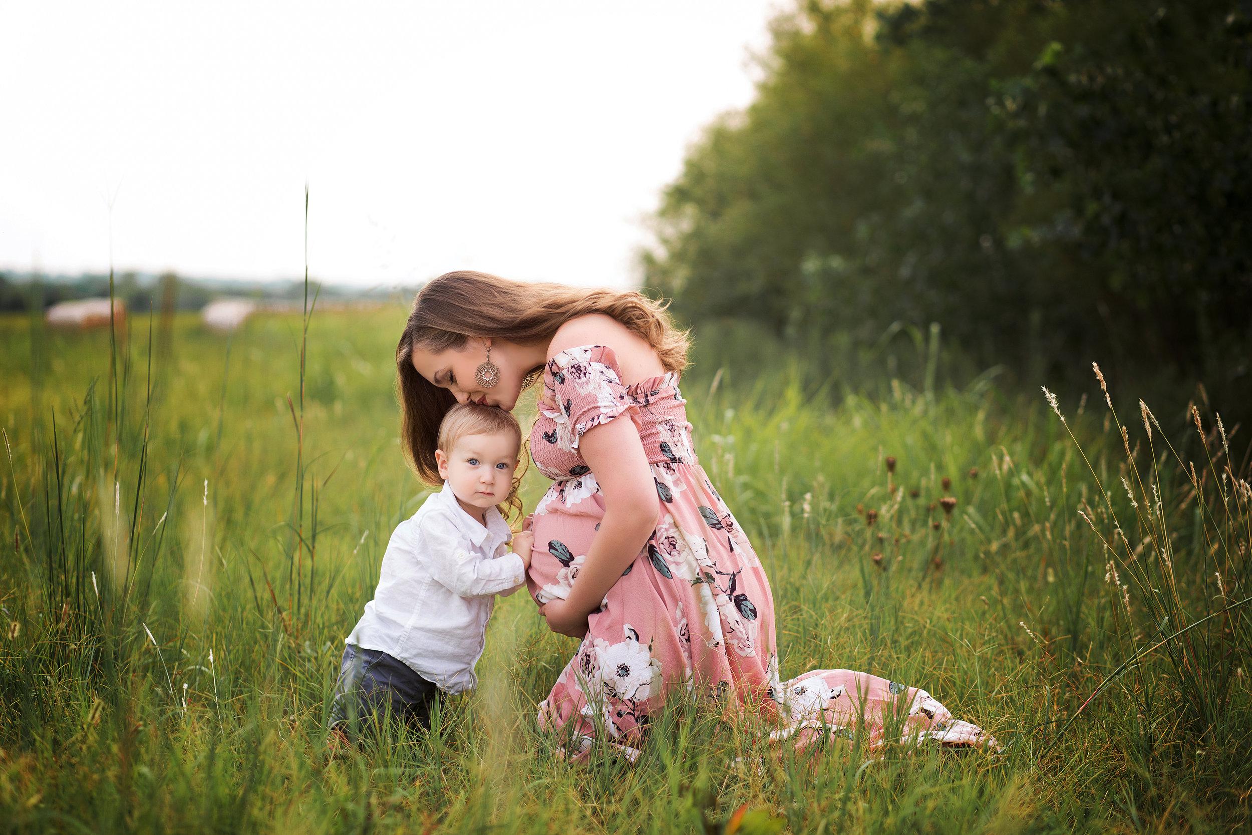 tulsa maternity photographer