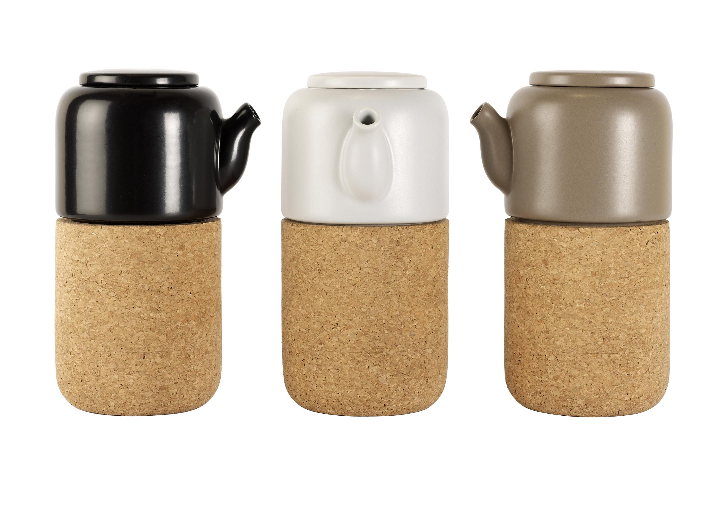 'Nomu' teapots by Lee West for ENOstudio, £62.80   madeindesign.co.uk