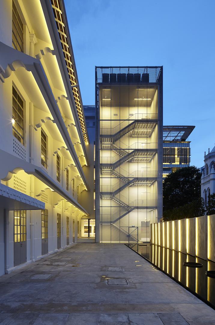 CAPTION - National Design Centre, Back Entrance (Night) - - CREDITS - Aaron Pocock.jpg