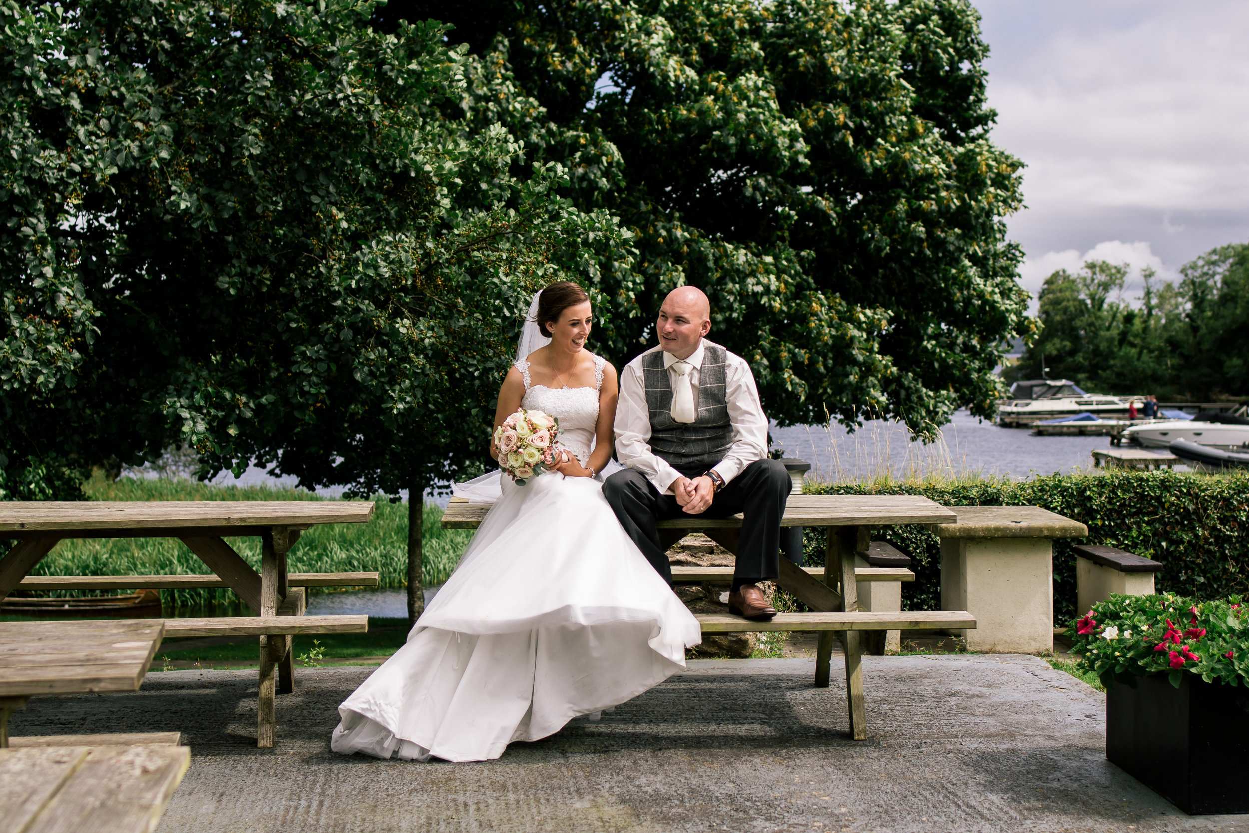 Lauren and Kevin - Lusty Beg Island