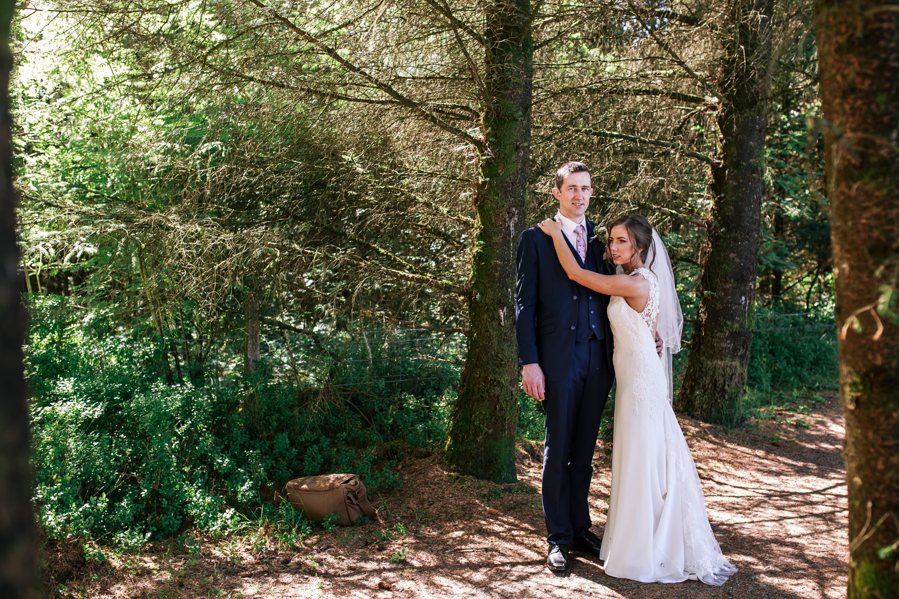 Edel and Paddy - St Marys Church Loughmacrory /Mount Errigal Hotel