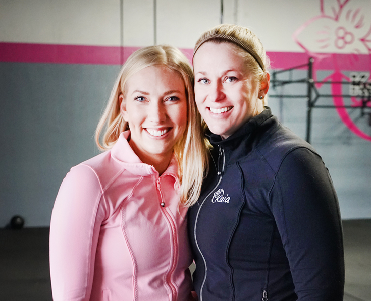 Boss Women:Kira Rasmussen and Amber Leonti - Co-Owners of Kaia Fit Sunrise, Sacramento, Carmichael
