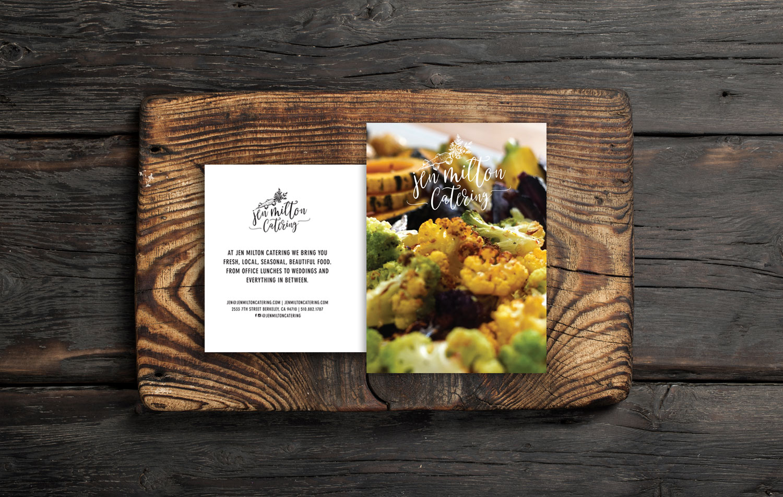 Jen Milton Catering postcard