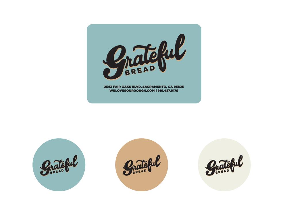 Grateful Bread Stickers