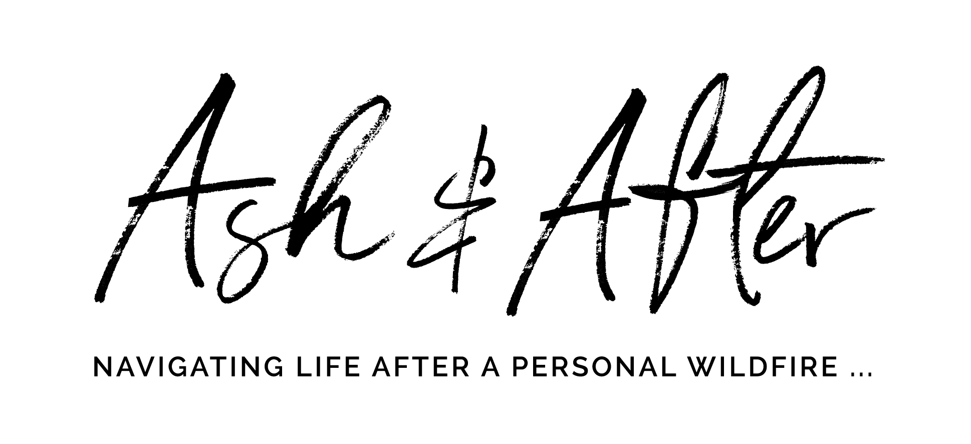 Ash and After Secondary Logo Design