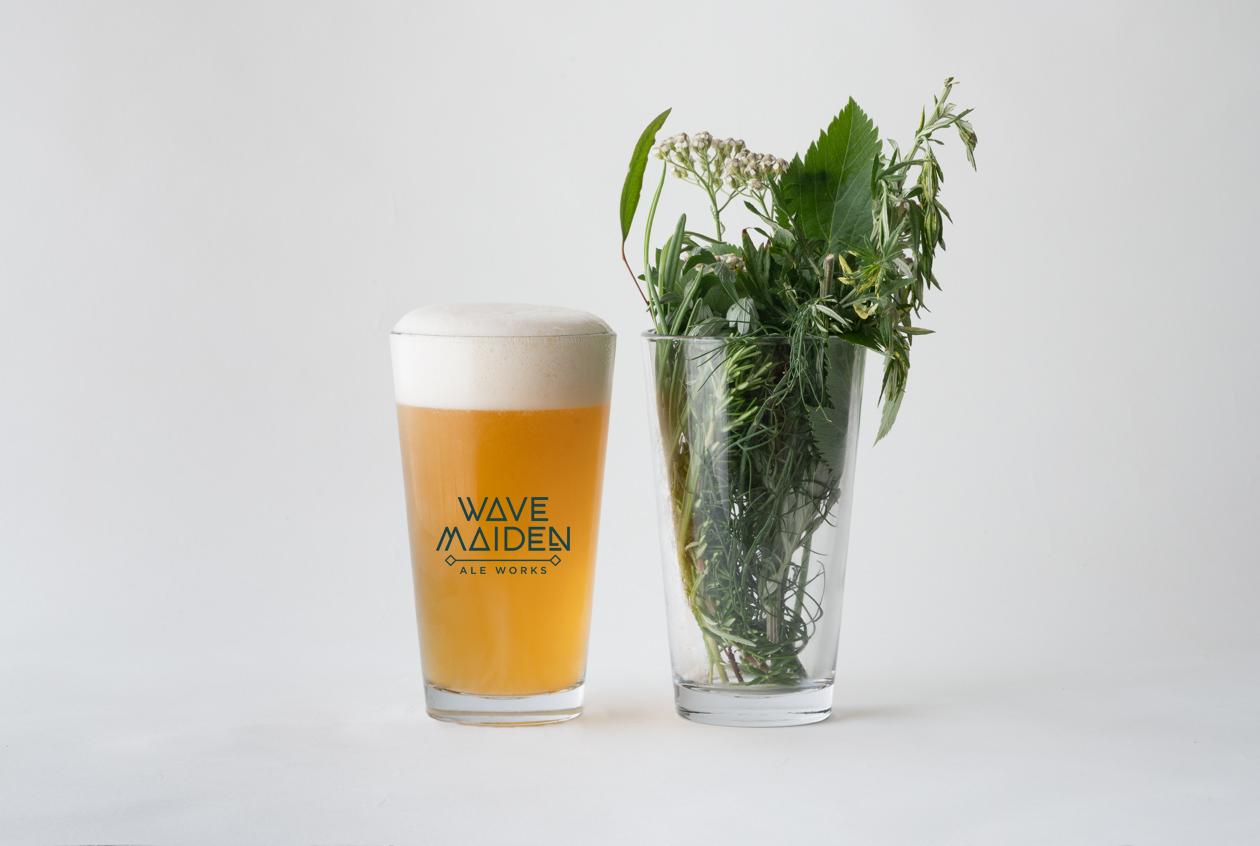 Wave Maiden Ale Works Beer Logo