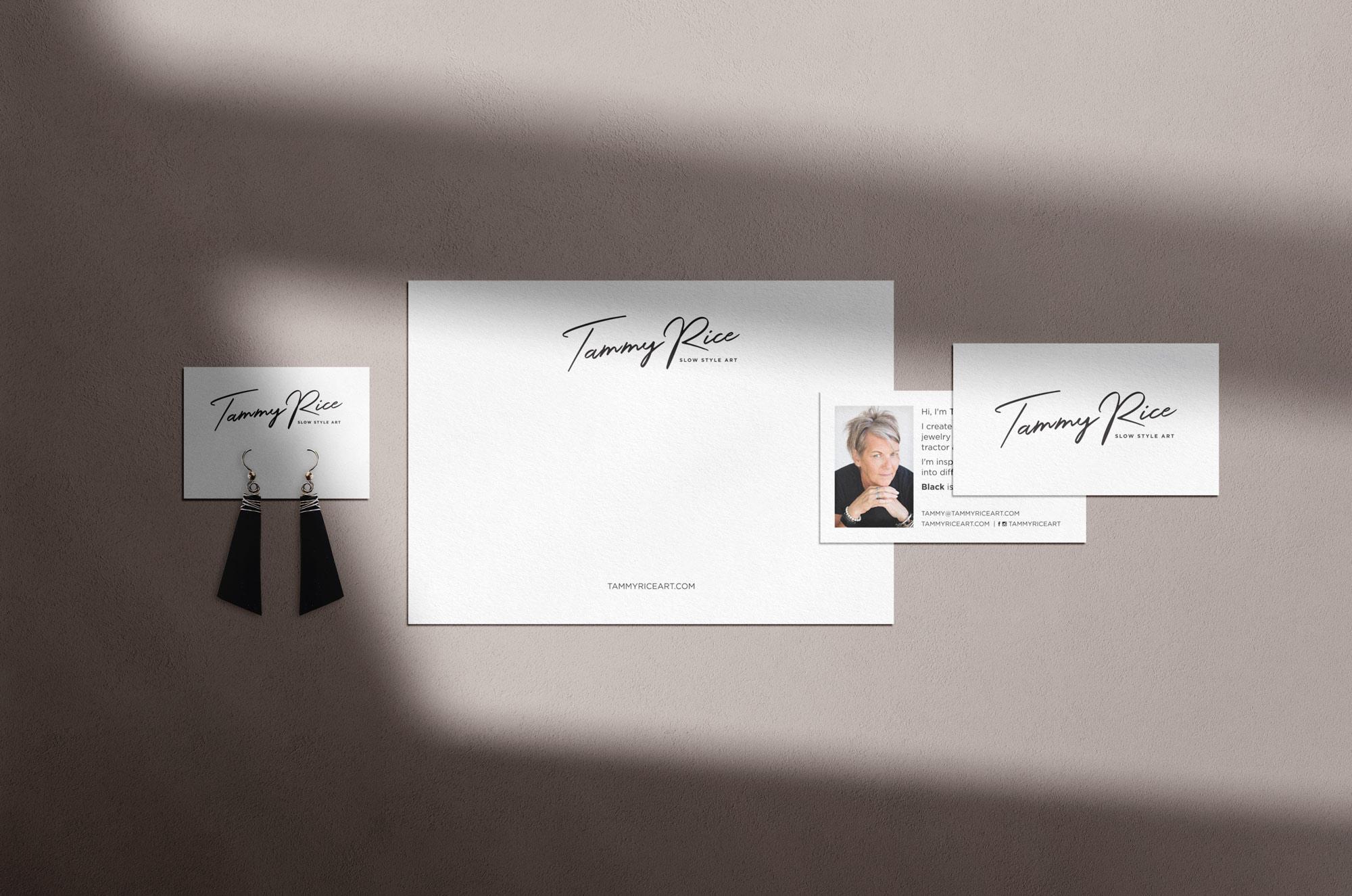 Tammy Rice Art Brand Identity