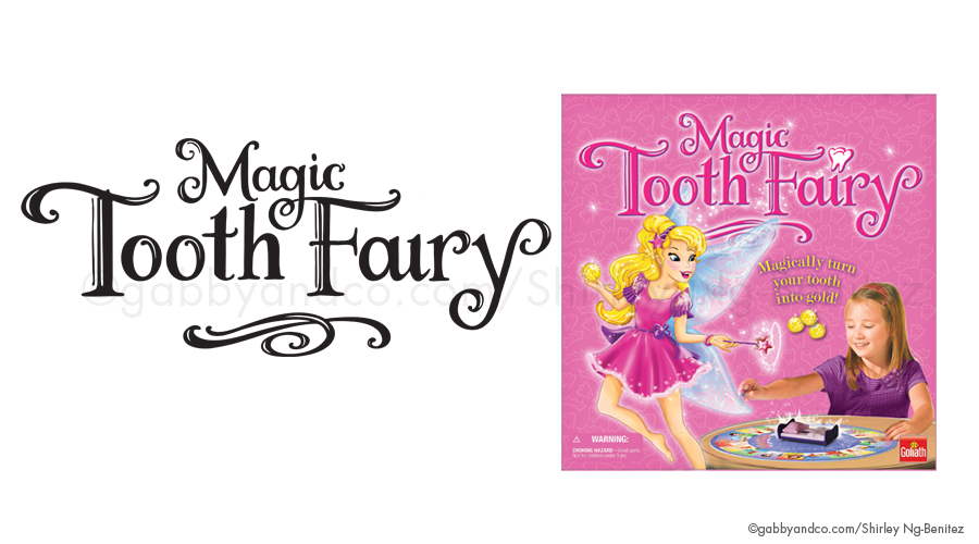 Magic Tooth Fairy Game, Goliath Games