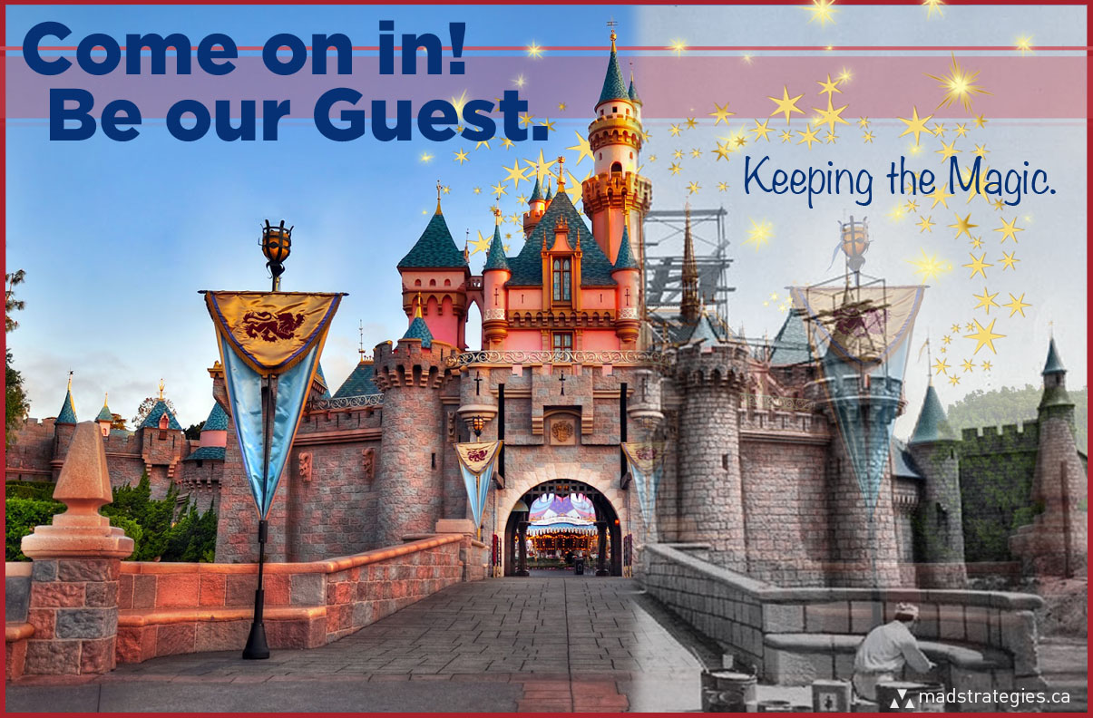 Come on ni! Be our Guest.