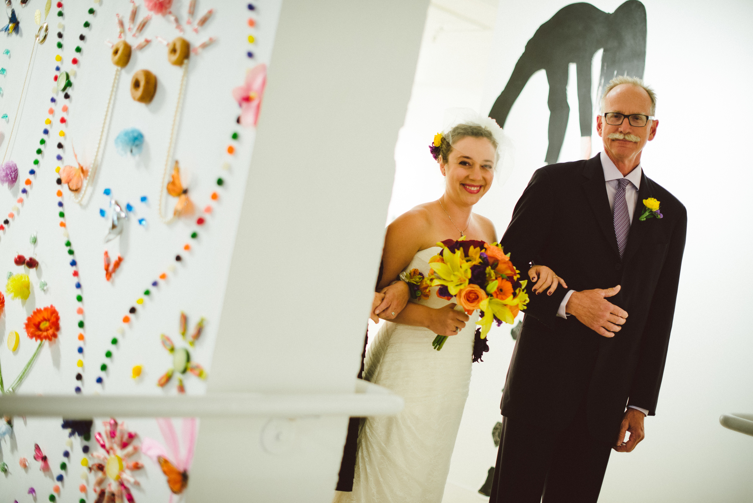 Sarah and her handsome father, Gary.  Photo courtesy of Ryan Dearth Photography.