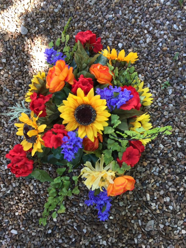 Summer Silk Memorial Arrangement