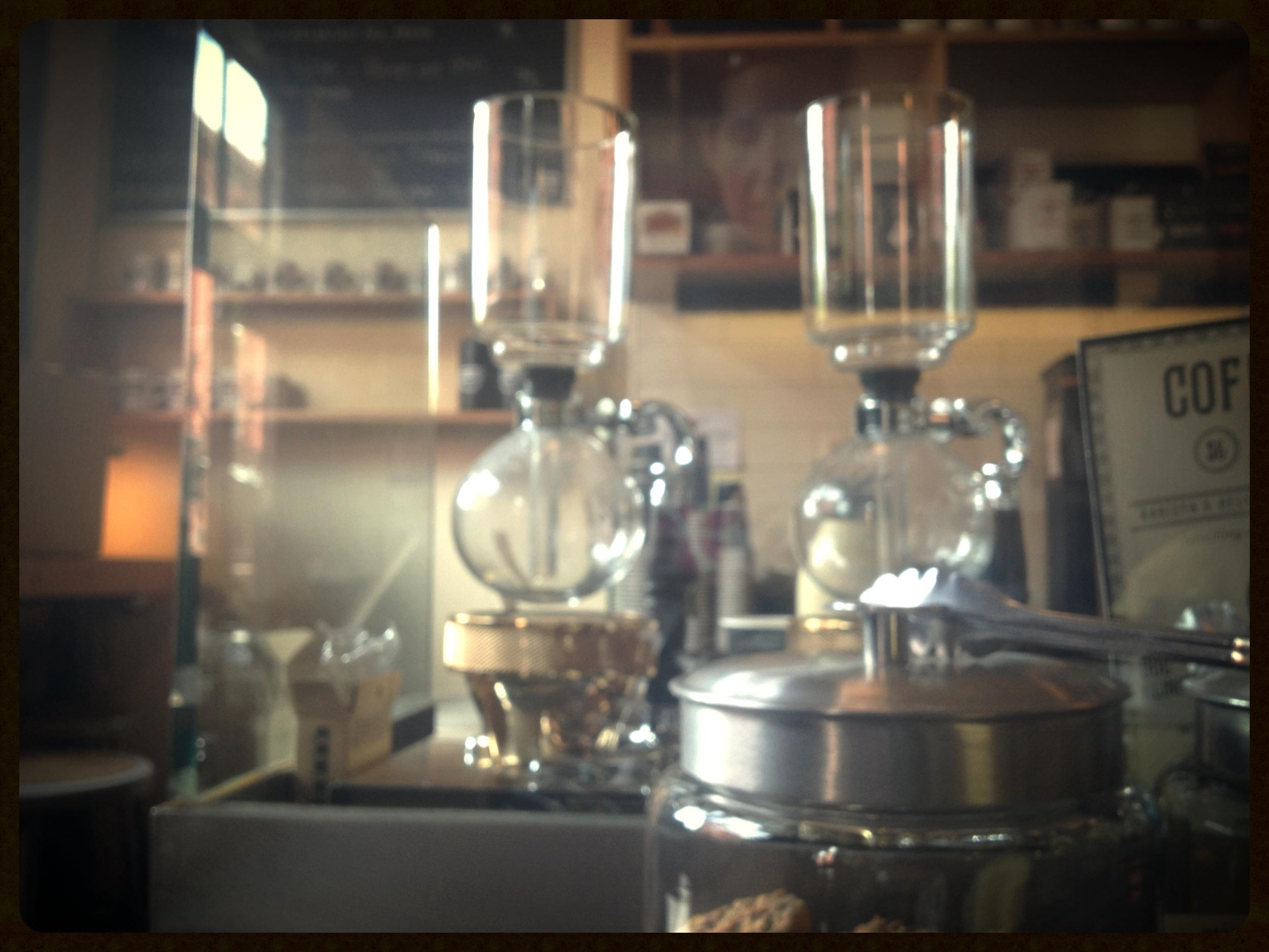 steampunk meets coffee