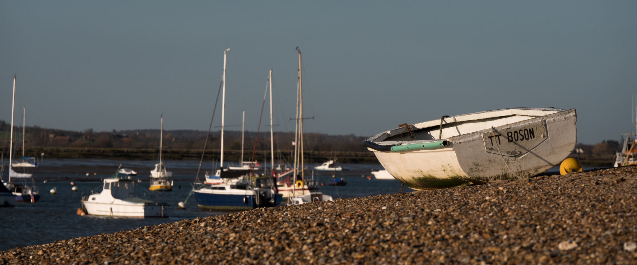 I couldn't help feeling this small boat, stranded high on the beach, was yearning to be in the water!