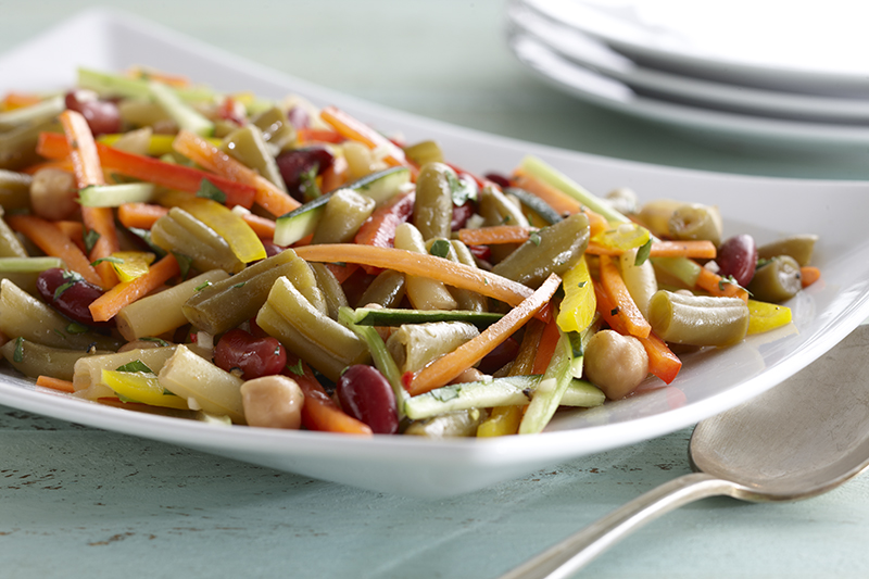 Bean & Vegetable Salad