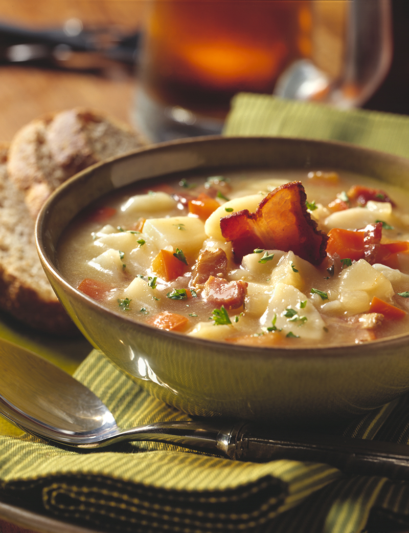 German Potato Salad Soup
