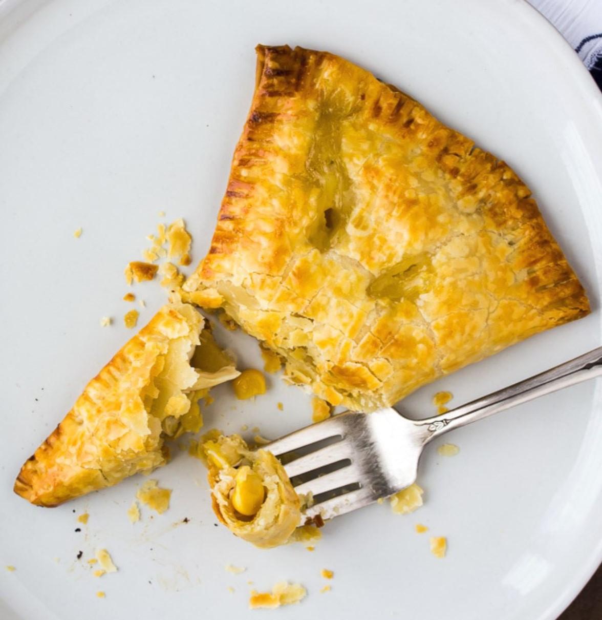 Chicken Corn Chowder Hand Pies