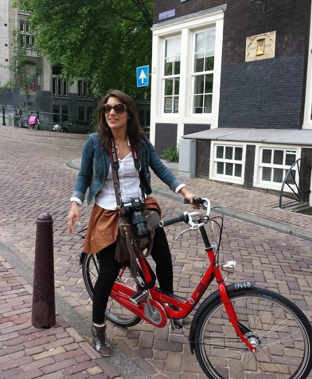 I've got a bad case of bike seat butt, but I'm pedaling through the pain. A true hero.