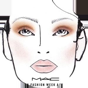 Salvatore Ferragamo Face Chart by MUA Diane Kendal