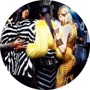 Regram from   olivier_rousteing   Jungle fever at Balmain