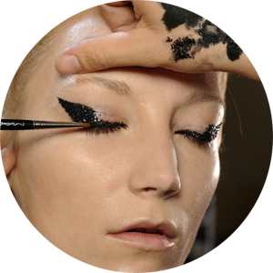 Haider Ackermann image from MAC Cosmetics