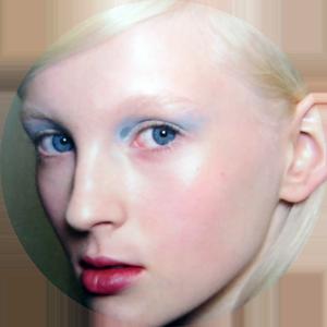 The pastel look at Prada
