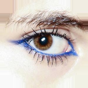 Marc Jacobs: the shocking blue eyeliner
