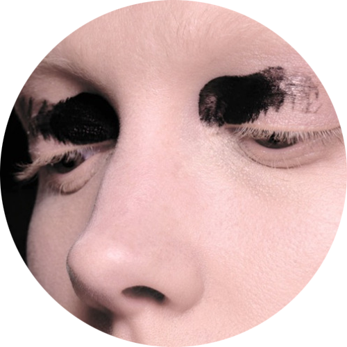 The eye look at Proenza Schouler Fall 2015 - Image Courtesy of MAC Cosmetics