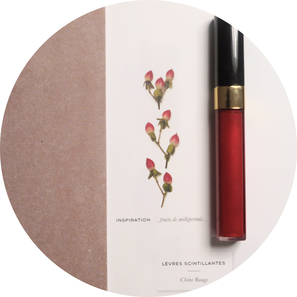 Lèvres Scintillantes in Chêne Rouge