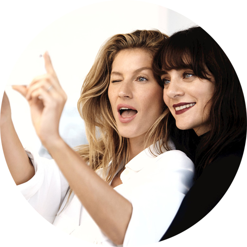 Chanel Beauty Talks episode one Gisel B�ndchen and Lucia Pica
