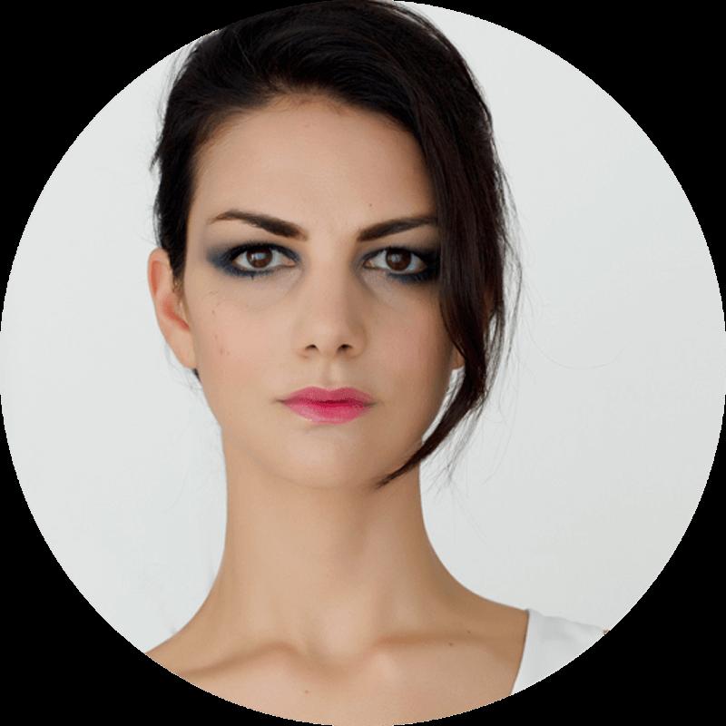 Wearing Giorgio Armani Beauty Eye Tint in Minuit