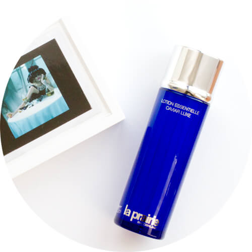 Caviar, anyone? High-end skincare w/ La Prairie Skin Caviar Essence in Lotion