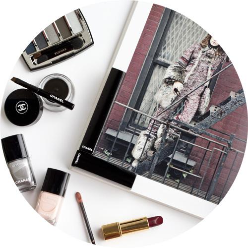 chanel collection libre -Le vernis longue tenue liquid mirror -le vernis velvet in pink rubber-calligraphie de chanel eyeliner hyperblack-eyeshadow palette in architectonic-rouge allure ultraberry.jpg