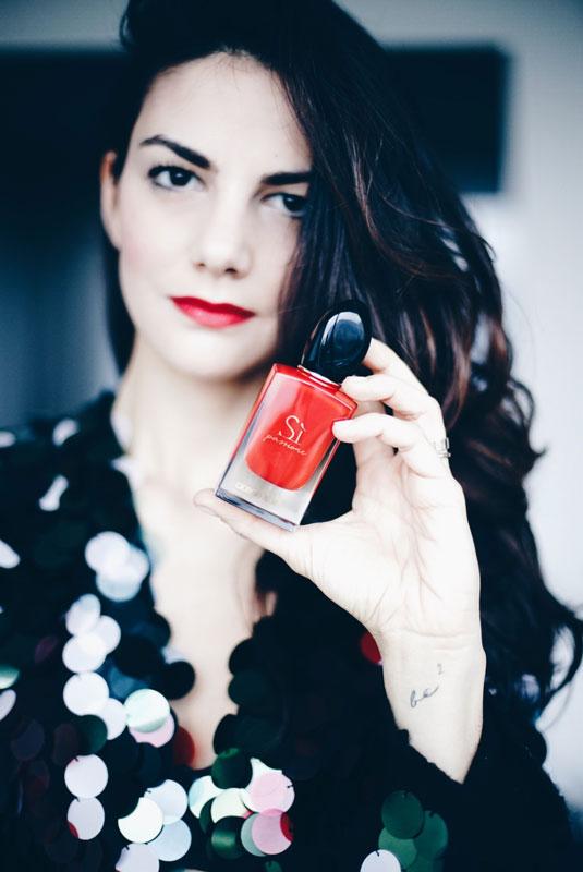 Armani Sì Passione: the new scent of sensuality