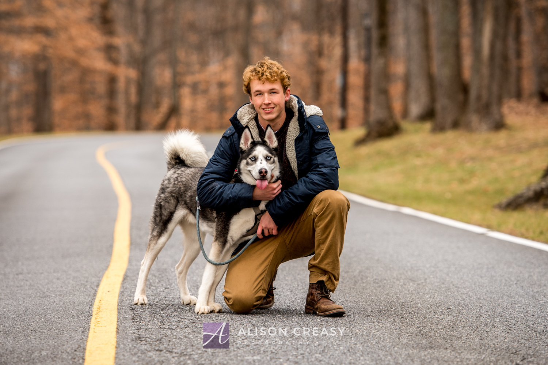 Senior_Photographer_Husky_Lynchburg_VA_Alison_Creasy