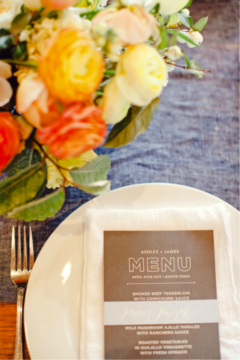 Choosing a menu for a party is more difficult than ever, but with a little planning, it can be done! { Via }