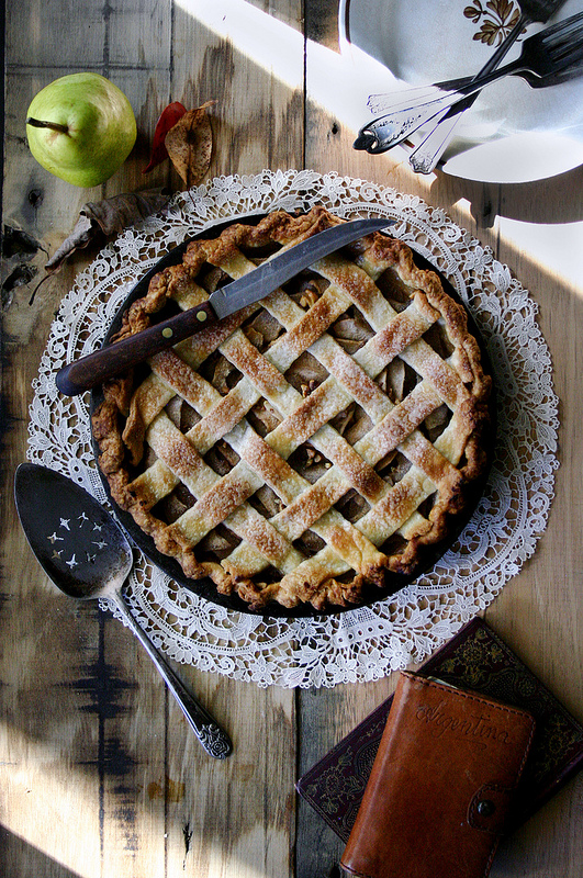 Sweet and savory, this pie tastes as good as it looks