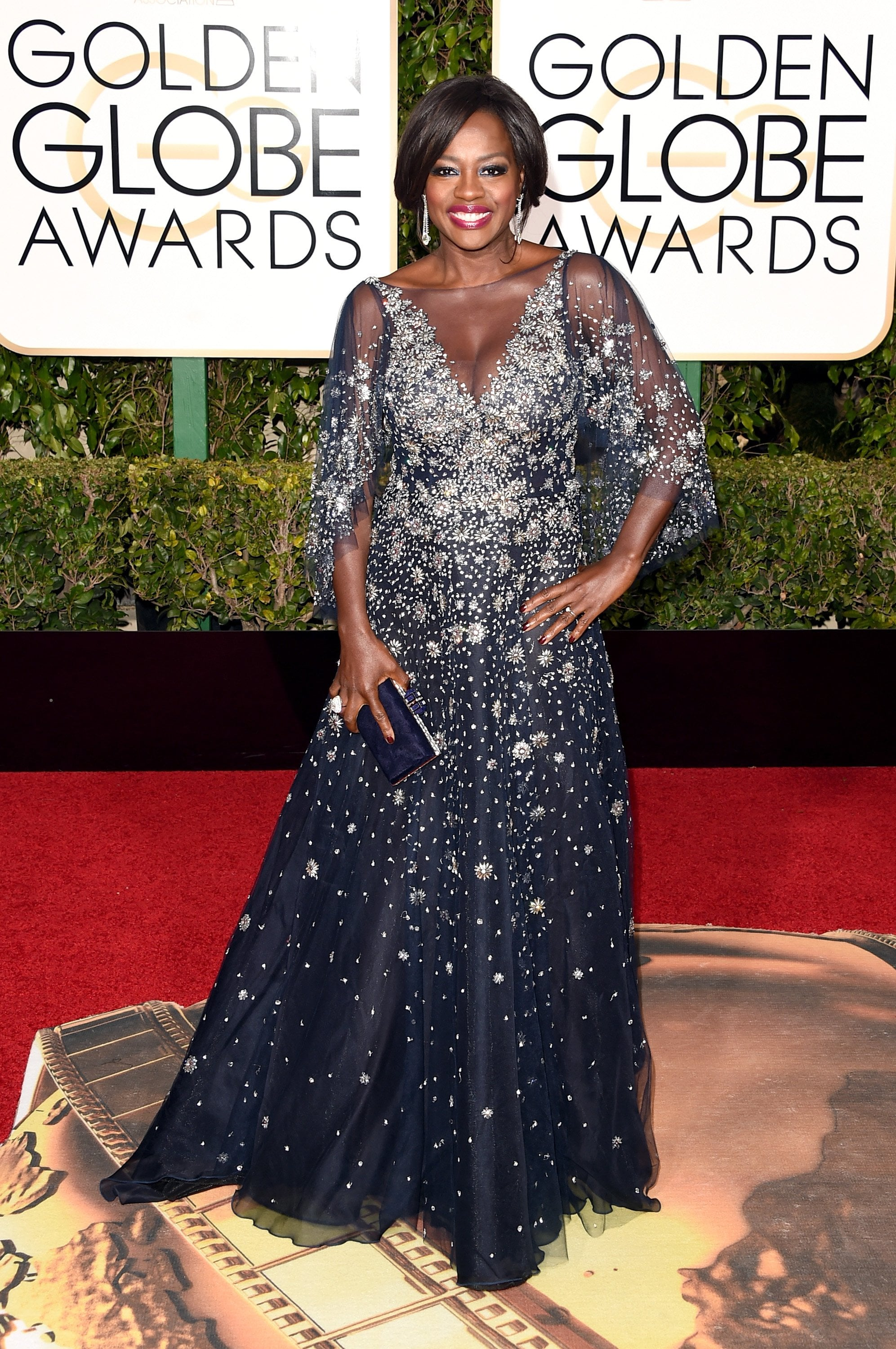 Viola Davis you can definitely not get away with murder in this extravagant Marchesa gown. Nothing more to say... this dress is fabulous!