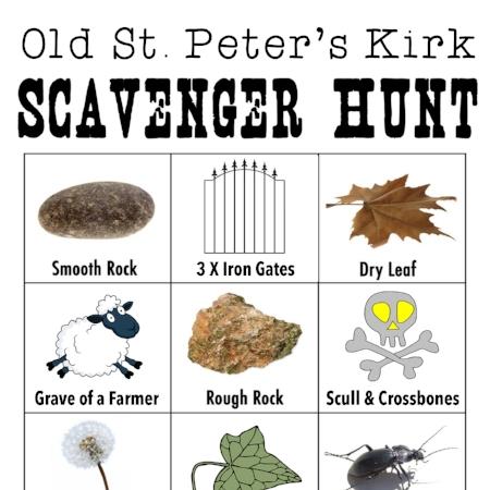 Old St Peter's Kirk FREE scavenger hunt download printable thurso caithness