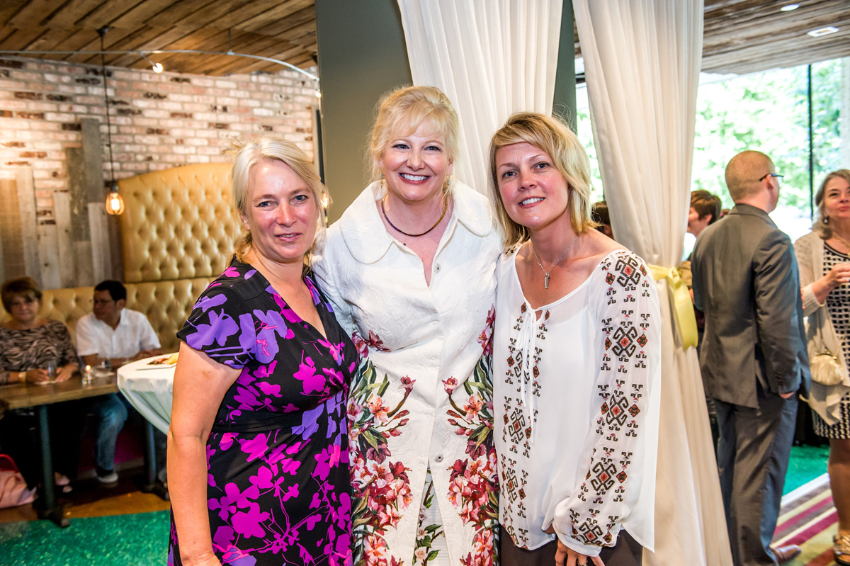 Ann Forsthoefel, Michelle Foreman Barnet and Lori Warner-McGee