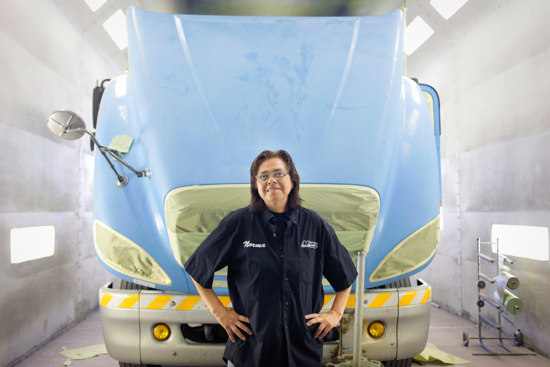 Norma Serrano  Auto painter