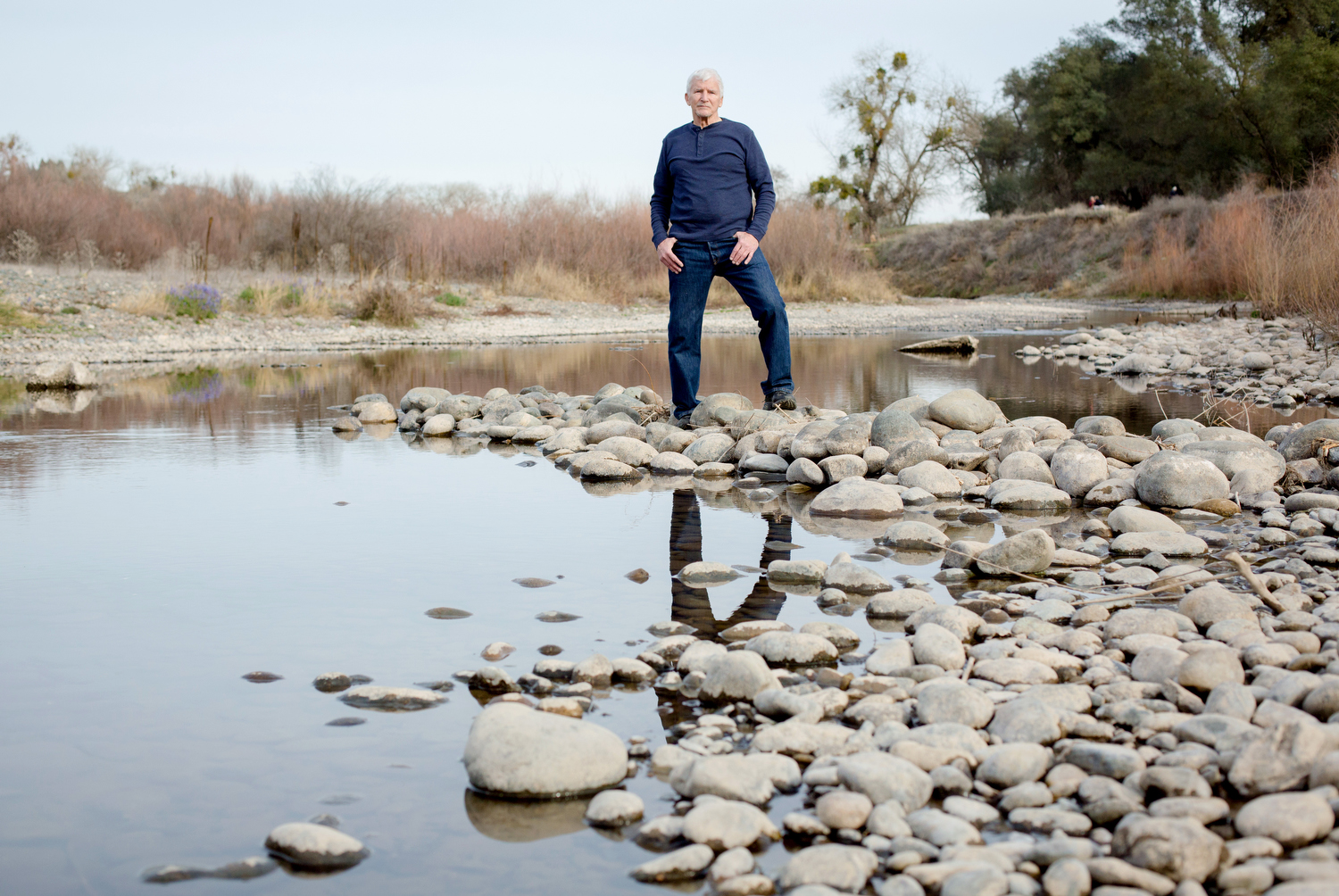 Jim Jones, a board member of the Save the American River Association.