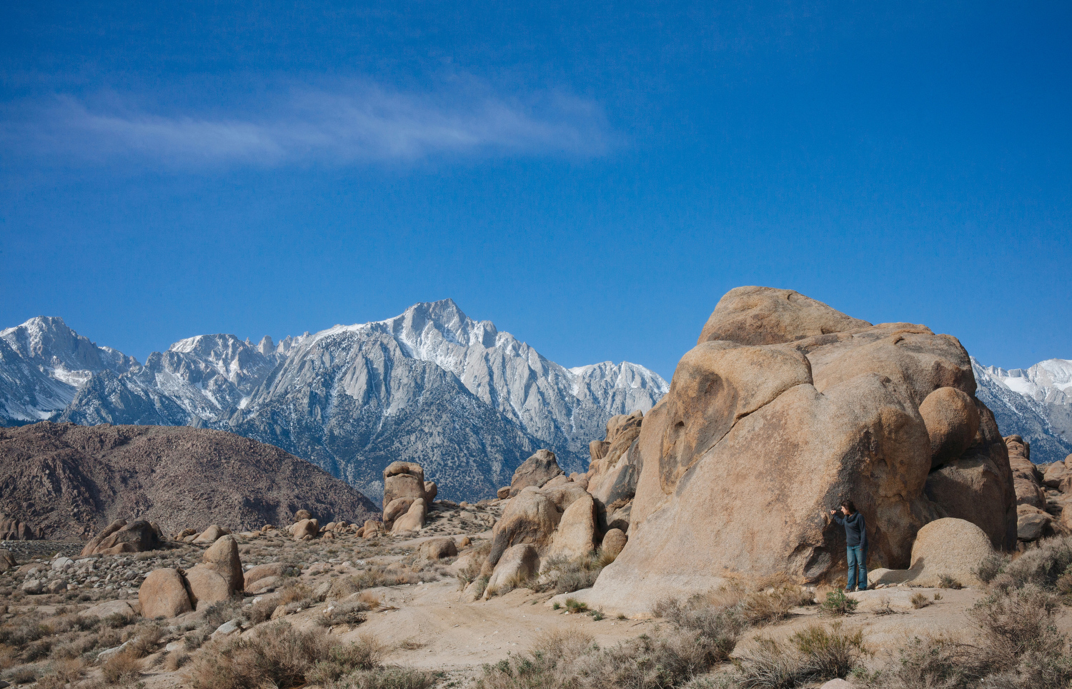 Alabama Hills near Lone Pine, Calif.