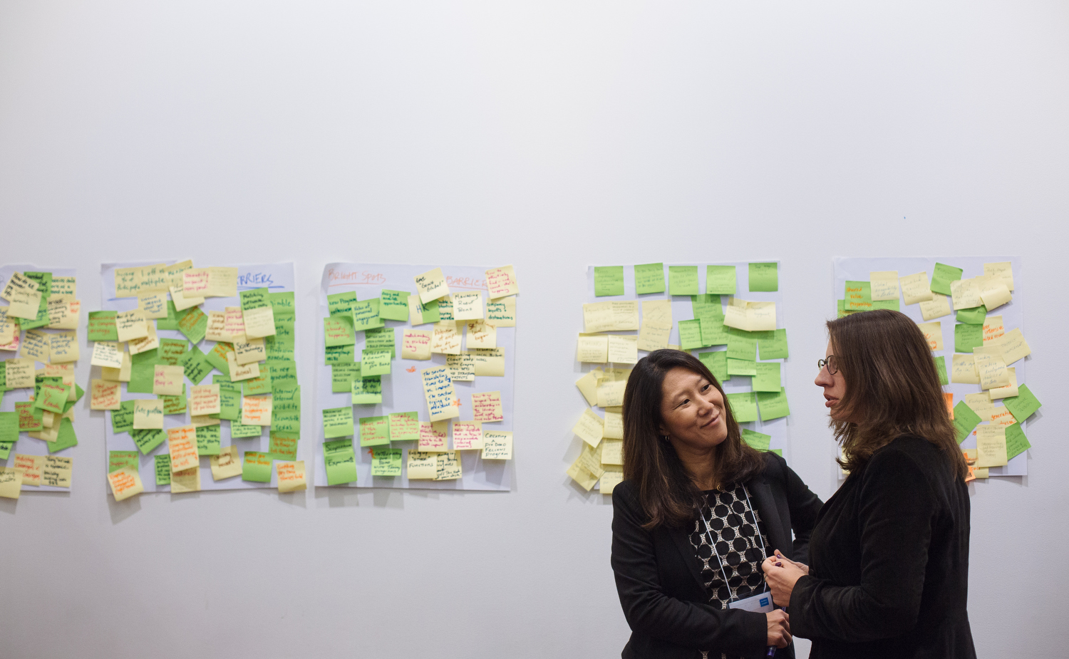 Discussions are held at the 2014 Global Pro Bono Summit in San Francisco on Feb. 26, 2014.